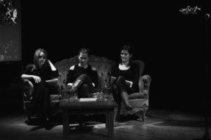Alia Serouji, Maud Vanhauwaert & Sarah De Mul