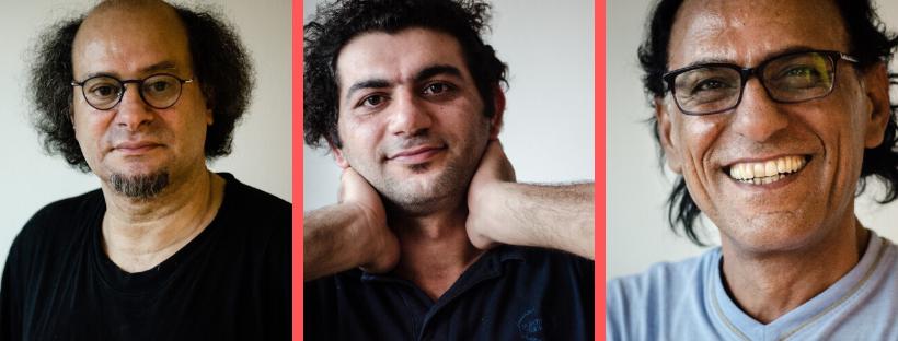 Hazim Kamaledin, Abduallah Maksour en Majid Matrood