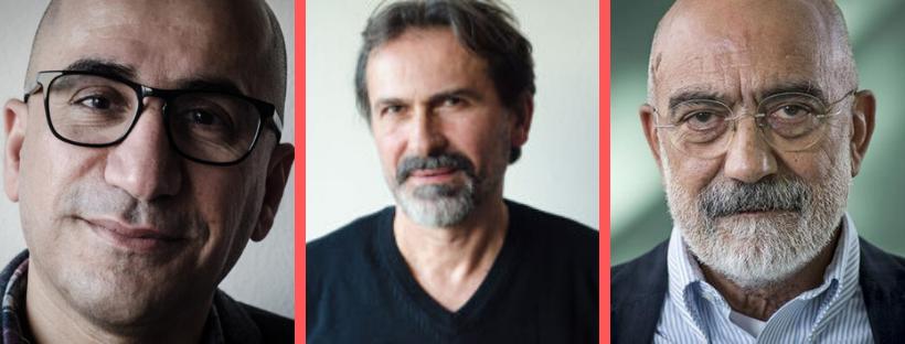Hoshang Ossi, Mario Paric en Ahmet Altan