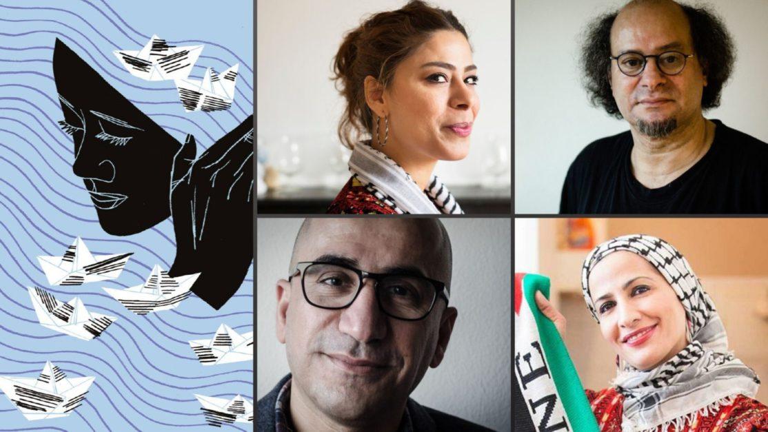 Vier PEN-auteurs op Boekenbeurs